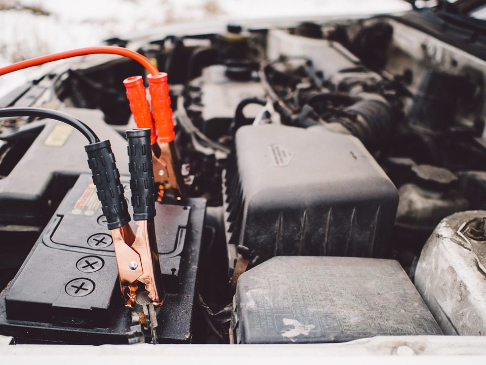 jumper cables car battery