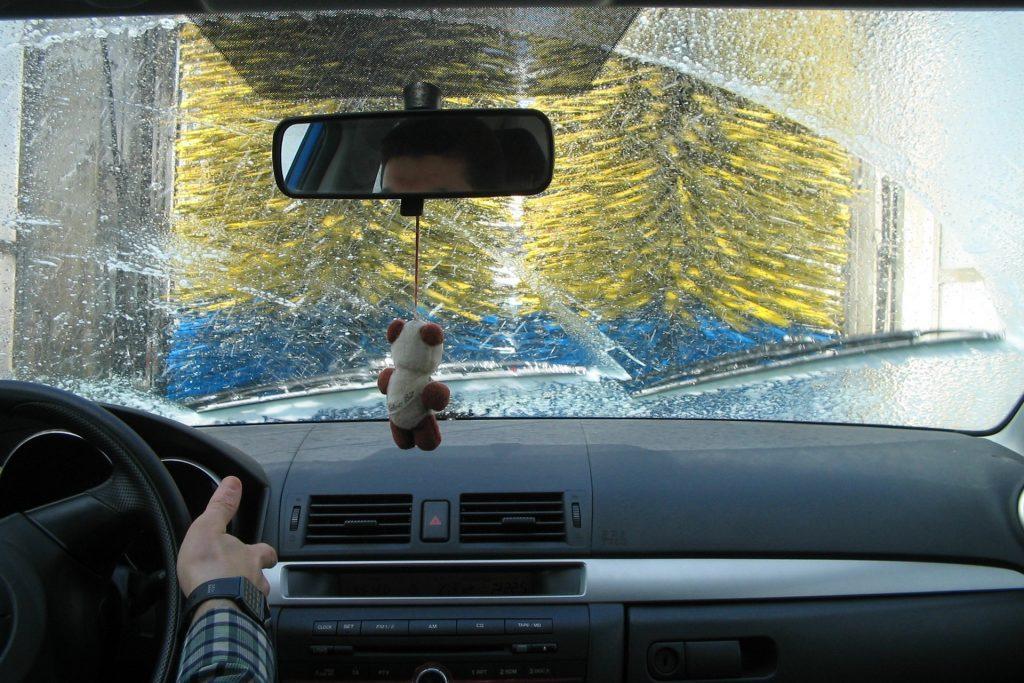 car window washing