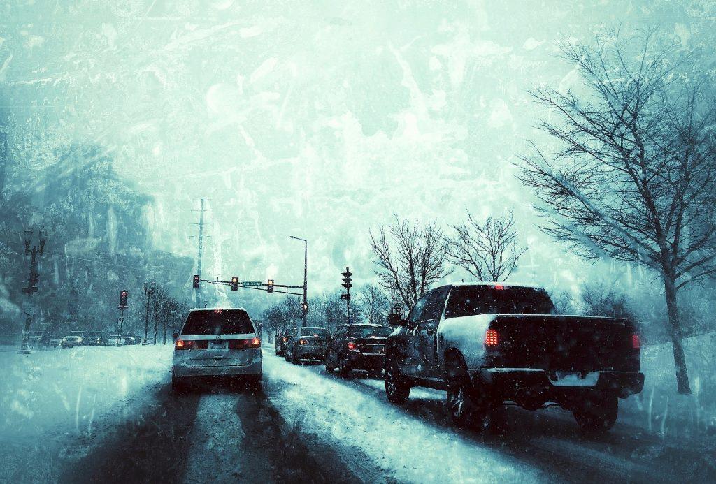 ontario st. winter snow