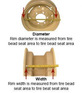 rim diameter