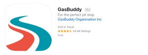 gasbuddy itunes app screenshot