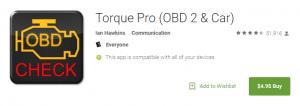 torque pro app Screenshot