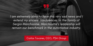 Carlos Tavares quote