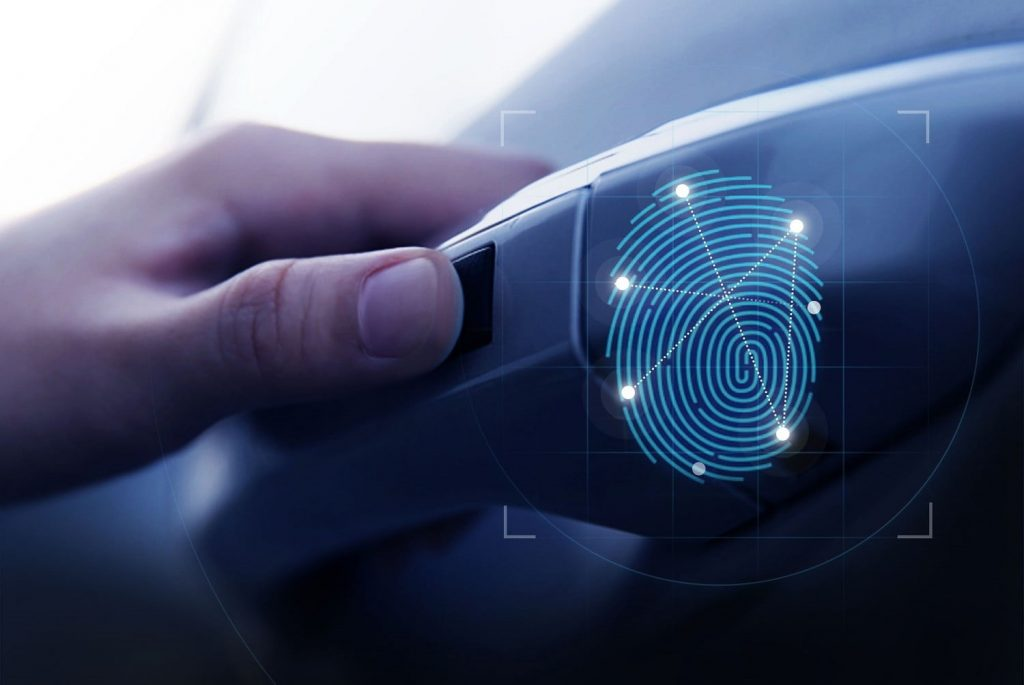 biometric sensor fingerprint car
