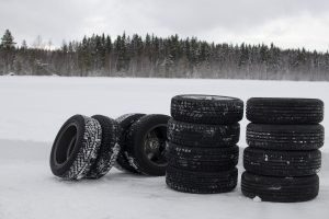 storing winter tires