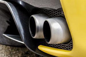 car exhaust fuel efficiency
