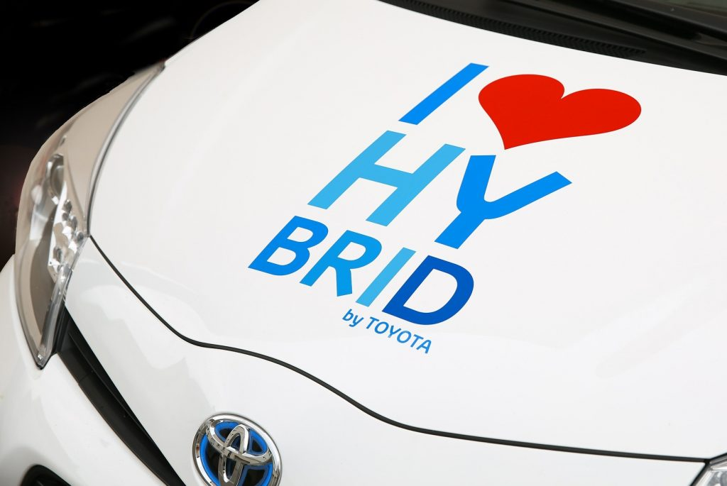 i heart hybrid vehicle