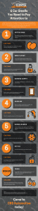 6 Car Smells You Need to Pay Attention to infographic