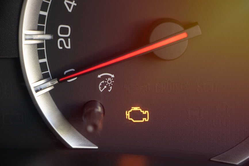 My check engine light turned on CRS Automotive Hamilton and Cambridge, ON