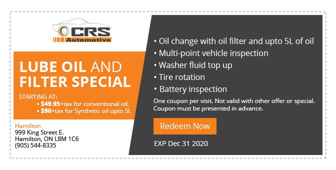 CRS Automotive Hamilton auto service half price wheel alignment